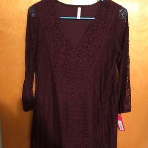 NWT. 3/4 sleeve dress